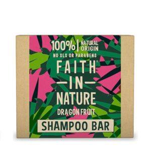 Kietasis šampūnas Faith in Nature 85g (su drakono vaisiumi)