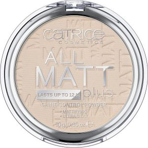 Kompaktinė pudra CATRICE All matt plus shine control 010 10g