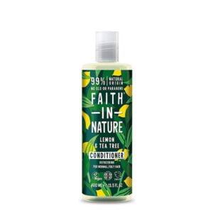 Kondicionierius Faith in Nature 400ml (su citrinomis ir arbatmedžiu)