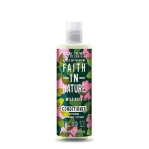 Kondicionierius atkuriantis plaukus Faith in Nature 400ml (su laukinėmis rožėmis)