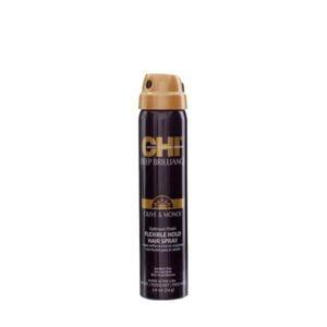 Plaukų lakas lanksčiai fiksacijai CHI DEEP BRILLIANCE 74g