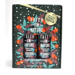 Rinkinys Faith in Nature (su šokolado ir apelsinų aromatu)