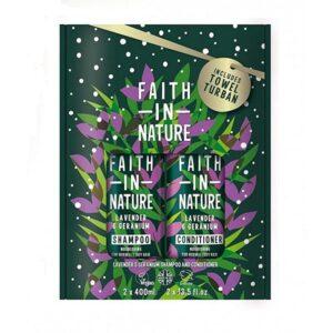 Rinkinys Faith in Nature (su levandų ir pelargonijų aromatu)