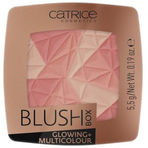 Skaistalai CATRICE Blush Box Glowing + Multicolour 010 5.5g