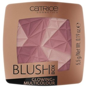 Skaistalai CATRICE Blush Box Glowing + Multicolour 020 5.5g