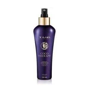 Naktinis serumas plaukų atstatymui T-Lab Coco Therapy 150ml