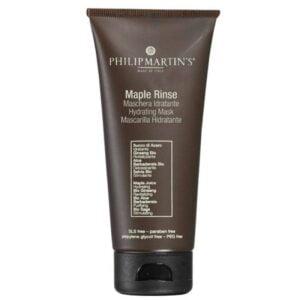 Drėkinanti plaukų kaukė pažeistiems plaukams Philip Martin's Maple Rinse 75ml