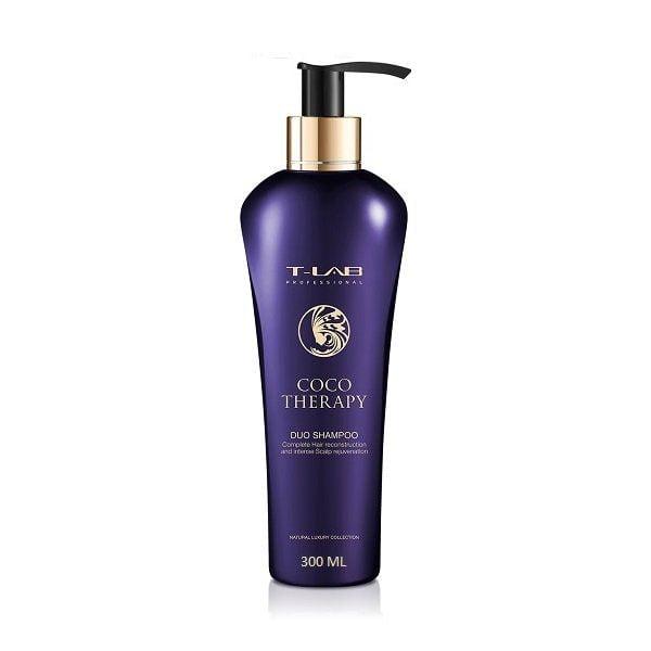 Šampūnas plaukų atstatymui T-Lab Coco Therapy 300ml