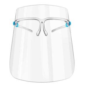 Apsauginis veido skydelis Face Shield su akinių rėmu