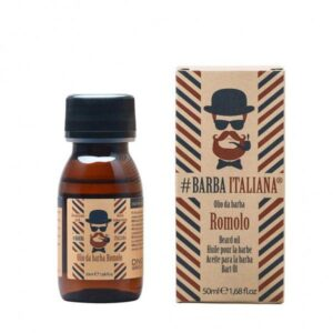 Barzdos plaukų aliejus Barba Italiana Beard Oil Romolo 50ml
