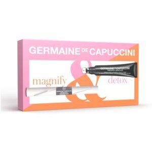 Dovanų rinkinys Germaine De Capuccini Timexpert SRNS 15ml + Magnif-eye 10ml (blakstienoms ir paakiams)