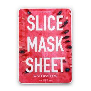Gaivinanti kaukė KOCOSTAR Watermelon Slice Mask Sheet 12vnt