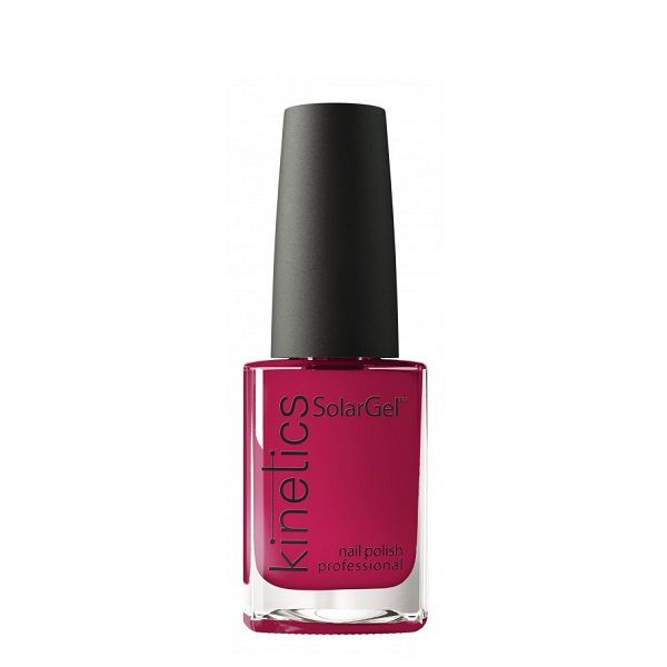 Hibridinis nagų lakas Kinetics Freedom Solar Gel Polish Hedonist Red #380 15ml
