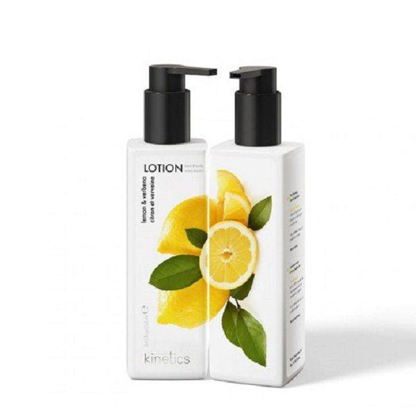 Losjonas rankoms ir kūnui Kinetics citrinų, verbenos kvapo