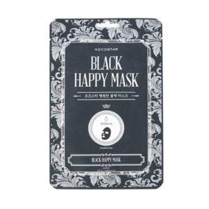 Veido kaukė KOCOSTAR Black Happy Mask 1vnt.