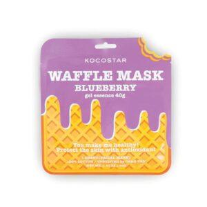 Veido kaukė KOCOSTAR Waffle Mask Blueberry 40g