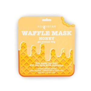 Veido kaukė KOCOSTAR Waffle Mask Honey 40g