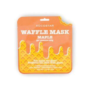 Veido kaukė KOCOSTAR Waffle Mask Maple 40g