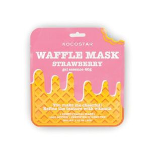 Veido kaukė KOCOSTAR Waffle Mask Strawberry 40g