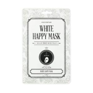 Veido kaukė KOCOSTAR White Happy Mask 1vnt.