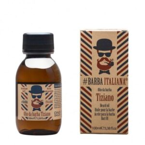 Barzdos plaukų aliejus Barba Italiana Beard Oil Tiziano 100ml