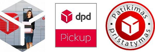 Pristatymas į DPD pickup paštomatus