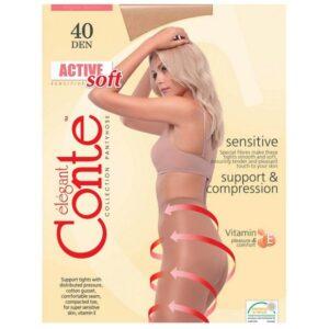 Juodos-pedkelnes-Conte-Active-Soft-40-denu