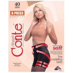 Juodos-pedkelnes-Conte-X-Press-40-denu