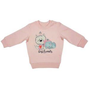 Medvilninis džemperis CAN GO Best friends 211 (68cm-98cm)
