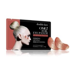 Paakių pagalvėlės OMG Foil Eye Patch - Rose Gold Theraphy