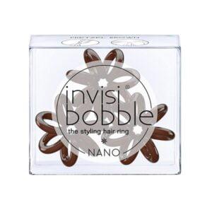 Plaukų gumytės Invisibobble Nano Pretzel Brown, 3vnt (2)