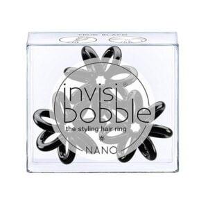 Plaukų gumytės Invisibobble Nano True Black, 3vnt