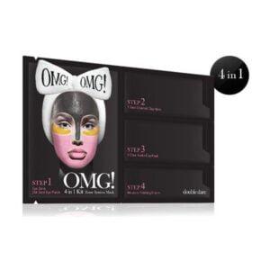 Rinkinys OMG 4in1 KIT Zone System Mask