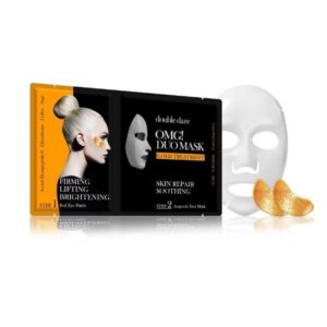 Rinkinys OMG Duo Mask - Gold Theraphy