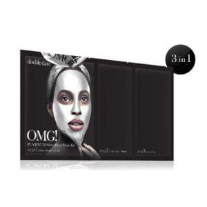 Rinkinys OMG Platinum Silver Facial Mask Kit