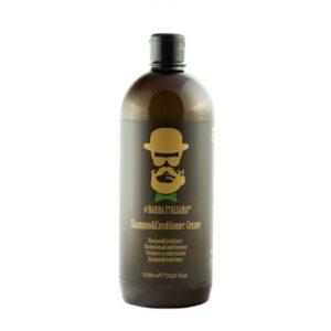 Šampūnas - kondicionierius Barba Italiana Shampoo & Conditioner 2 In 1 Cesare 1000ml