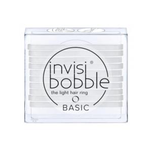 Silikoninės gumytės Invisibobble Basic Crystal Clear, 10 vnt