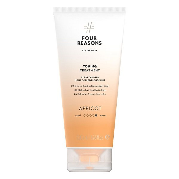 Tonuojanti kaukė Four Reasons Color Mask Apricot 200ml