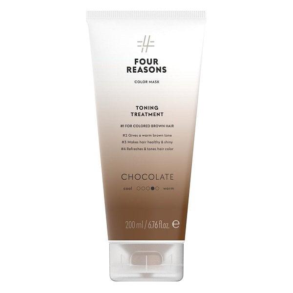 Tonuojanti kaukė Four Reasons Color Mask Chocolate 200ml