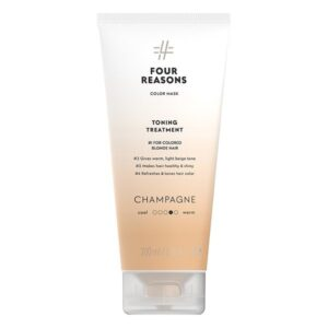Tonuojanti kaukė šviesintiems plaukams Four Reasons Color Mask Champagne 200ml