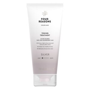 Tonuojanti kaukė žiliems plaukams Four Reasons Color Mask Silver 200ml