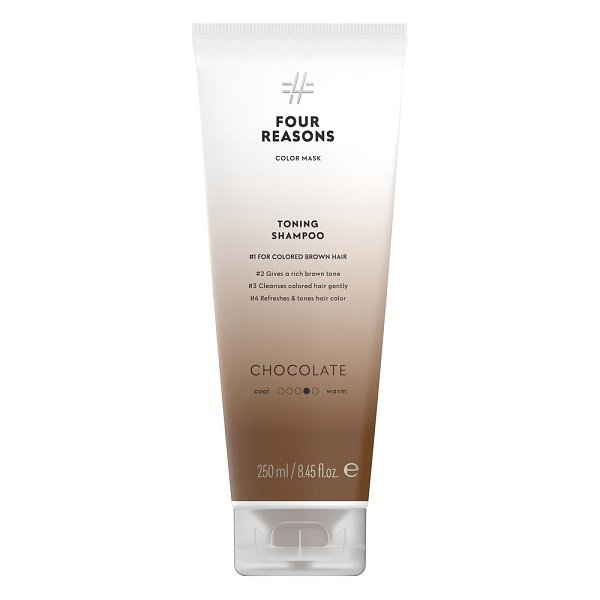 Tonuojantis šampūnas rudiems plaukams Four Reasons Color Mask Chocolate 250ml