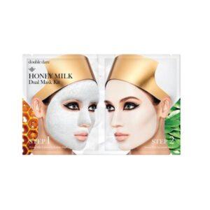 Veido kaukių rinkinys OMG Honey Milk Dual Mask Kit