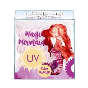 plaukų gumytės Invisibobble Kids Mermaid Coral, 3vnt