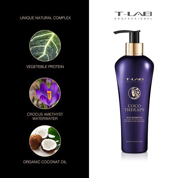 šampunas-T-Lab-coco-therapy-sudetis-300ml