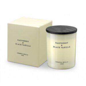 Aromatinė žvakė Cereria Molla Raspberry&Black Vanilla 250g