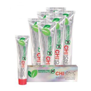 Kreminiai plaukų dažai CHI Ionic Permanent Shine Hair Color 85g (be amoniako)