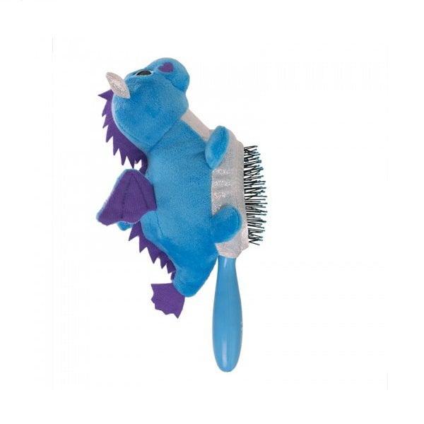 Plaukų šepetys vaikams WetBrush Plush Drakonas iš šono