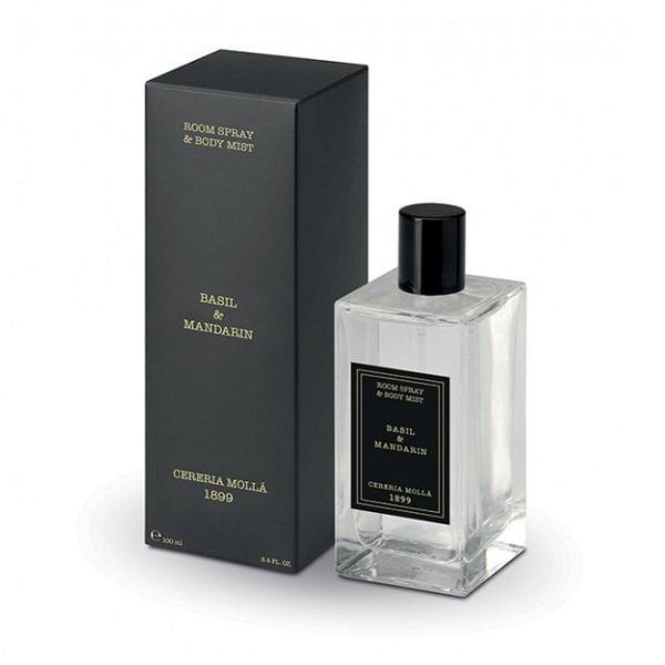 Purškiamas namų kvapas Cereria Molla Basil&Mandarin 100ml