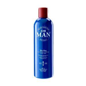 Šampūnas, kondicionierius ir kūno prausiklis CHI Man 3in1 THE ONE 355ml